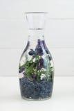 Gegoten water Stock Foto's