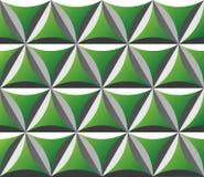 Gegraveerd groen naadloos patroon Royalty-vrije Illustratie