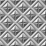 Gegraveerd metaal naadloos patroon Vector Illustratie