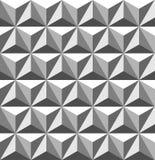 Gegraveerd naadloos patroon Stock Illustratie