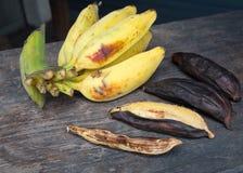 Gegrillte Banane Lizenzfreies Stockfoto