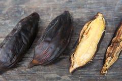 Gegrillte Banane Lizenzfreies Stockbild