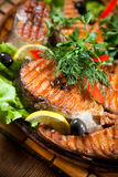 Gegrillte Fische Stockbilder
