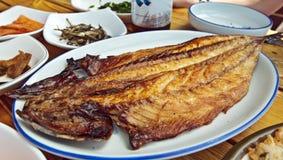 Gegrillte Fische Lizenzfreies Stockfoto