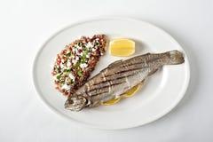 Gegrillte Fische Lizenzfreies Stockbild