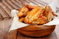 Gegrillte Hühnerflügel Lizenzfreie Stockfotos