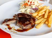 Gegrillte Steaks Lizenzfreies Stockfoto