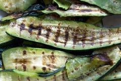 Gegrillte Zucchini lizenzfreie stockbilder