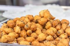 Gegrillter chinesischer Donut Stockfotos
