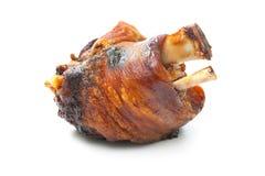 Gegrillter Schweinefleischknöchel lizenzfreie stockbilder