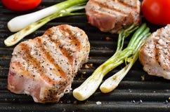 Gegrilltes Fleisch lizenzfreies stockbild
