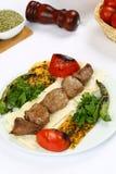 Gegrilltes Fleisch kebab Stockbilder