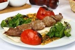 Gegrilltes Fleisch kebab Lizenzfreie Stockfotografie