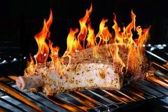 Gegrilltes Fleisch mit den Knochen Lizenzfreie Stockfotos
