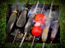 Gegrilltes Gemüse Stockfotografie