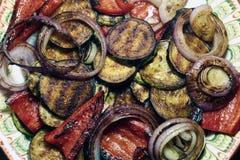 Gegrilltes Gemüse Stockfotos