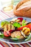 Gegrilltes Gemüse und Huhn Lizenzfreie Stockfotografie