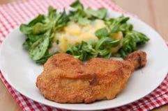 Gegrilltes Hühnerbein Stockbilder