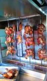 Gegrilltes Huhn drehen herum Art Stockfotografie