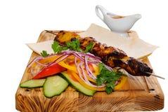 Gegrilltes kebab Stockbild