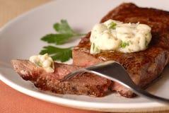 Gegrilltes ribeye Steak Lizenzfreie Stockfotografie