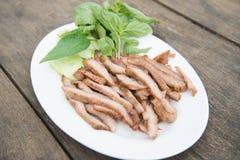 Gegrilltes Schweinefleisch Stockfoto