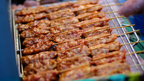 Gegrilltes Schweinefleisch Lizenzfreie Stockfotos