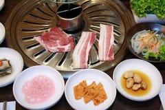Gegrilltes Schweinefleisch Korea. Lizenzfreie Stockfotos