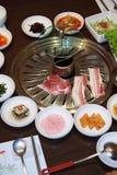 Gegrilltes Schweinefleisch Korea. Stockbild