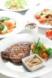 Gegrilltes Schweinefleisch-Steak Lizenzfreies Stockbild