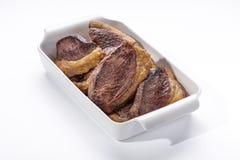 Gegrilltes Steak Stockbilder
