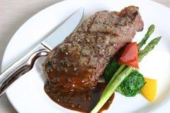 Gegrilltes Steak Lizenzfreies Stockfoto