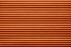 Gegroefte textuur van donkere scharlaken kleur Stock Foto's