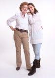 Gegroeid en mamma Royalty-vrije Stock Afbeeldingen
