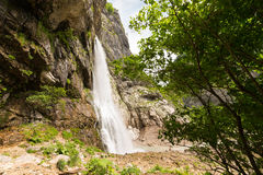 Gegsky waterfall in the forest Royalty Free Stock Photos
