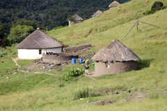 Gehäuse in Südafrika stockbilder