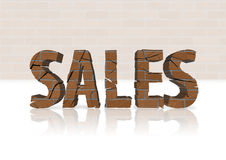Gehäuse-Verkaufs-Abnahme Stockfoto