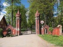 Gehöft des Landsitzes Traku Voke (Vilnius, Litauen) Lizenzfreie Stockbilder