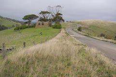 Gehöft-Ruinen, Fleurieu-Halbinsel, Süd-Australien Stockfoto