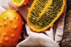 Gehörnte Melone Stockbilder