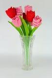 Gehaakte tulpen Stock Fotografie
