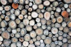 Gehackter hölzerner Hintergrund Holzindustrie Lizenzfreies Stockfoto
