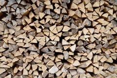 Gehackter Holzstapel Lizenzfreies Stockfoto
