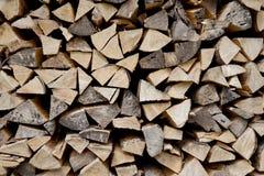 Gehackter Holzstapel Lizenzfreies Stockbild