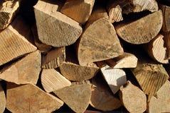 Gehacktes Brennholz lizenzfreie stockfotos