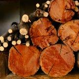 Gehacktes Holz Lizenzfreies Stockbild