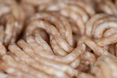 Gehacktes Schweinefleisch und Rindfleisch Stockbild