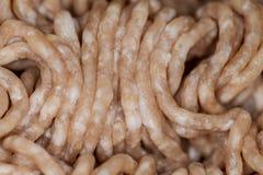 Gehacktes Schweinefleisch und Rindfleisch Lizenzfreies Stockfoto