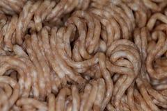 Gehacktes Schweinefleisch und Rindfleisch Lizenzfreie Stockbilder