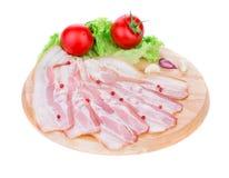 Gehakt bacon Royalty-vrije Stock Foto